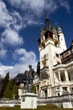View of Peles Castle, Sinaia Romania Stock Images