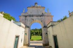 Pena Palace Sintra Stock Photo
