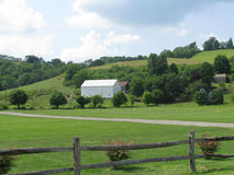 View of a Pennsylvania Farm Stock Image