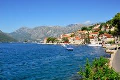 View on Perast, Montenegro Stock Photos
