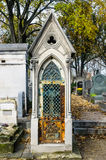View of Pere Lachaise Cemetery Royalty Free Stock Images