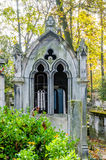 View of Pere Lachaise Cemetery Royalty Free Stock Photography