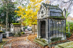 View of Pere Lachaise Cemetery Royalty Free Stock Photo
