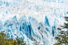 View of the Perito Moreno Glacier, Patagonia, Argentina stock photo