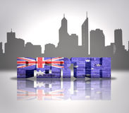 View of  Perth Royalty Free Stock Images