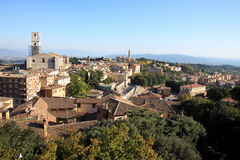 View at Perugia city, Umbria, Italy Stock Images