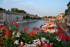 View of peschiera del garda Royalty Free Stock Photos