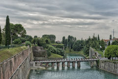 View of Peschiera del Garda Stock Image