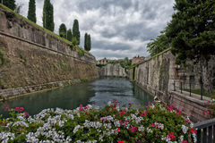 View of Peschiera del Garda Stock Photos
