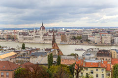 View of Pest, including the Banks of the Danube2 Stock Photography