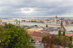 View of Pest, including the Banks of the Danube3 Royalty Free Stock Photography