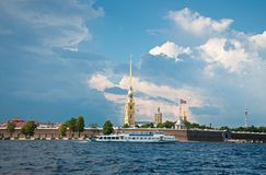 Peter and Paul Fortress, Saint Petersburg, Russia Stock Image