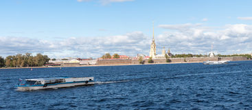 View of the Peter and Paul Fortress Stock Photos