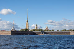 View of the Peter and Paul Fortress Royalty Free Stock Images
