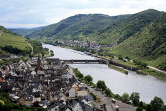 Moselle Valley Stock Photo