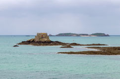 View of Petit Be fort, Saint-Malo, France Royalty Free Stock Photo