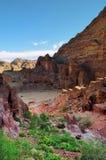 View at the Petra. Jordan Stock Images