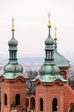 View from Petrin Tower Royalty Free Stock Images