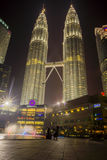 View of The Petronas Twin Towers Stock Image