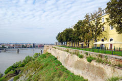 View from Petrovaradin fortress Stock Images