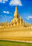 View of the Pha That temple. Vientiane, Laos Stock Photography