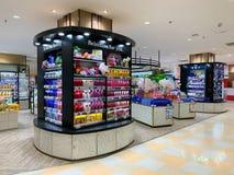 Pharmacy Shop,Cosmetic stock image