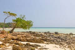 View on Phi Phi island beach Stock Photography
