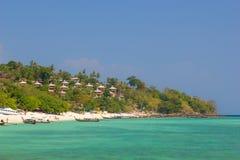View on Phi Phi island beach Stock Photo