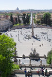 View on Piazza del Popolo , Rome, Italy Royalty Free Stock Photos