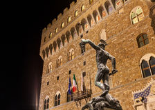 View of Piazza della Signoria in Florence, Italy Royalty Free Stock Photo