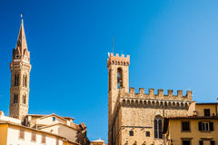 View from Piazza della Signoria in Florence Royalty Free Stock Image