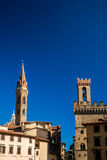 View from Piazza della Signoria in Florence Stock Image
