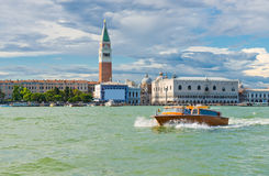 Free View Piazza San Marco With Campanile And Doge Palace Stock Image - 44208751