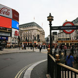 View of Piccadilly Circus, 2010 Royalty Free Stock Image