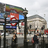 View of Piccadilly Circus, 2010 Stock Image
