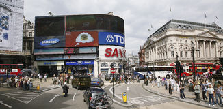 View of Piccadilly Circus, 2010 Stock Photo