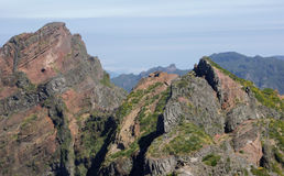 View From Pico de Arieiro Madeira Stock Photo