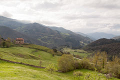 View of Picos de Europa Royalty Free Stock Photos