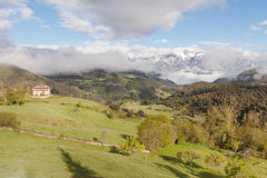 View of Picos de Europa Stock Photo