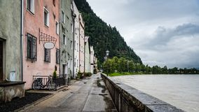 Rattenberg a small town in Tirol, Austria stock image
