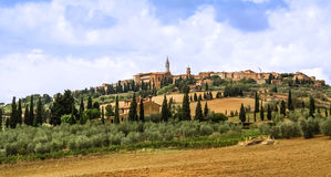A view of Pienza Royalty Free Stock Image
