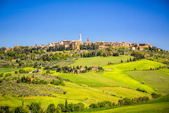 View of Pienza Stock Photography