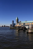 View of Pier A from Battery park Royalty Free Stock Photography