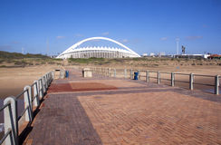 View From Pier of Moses Mabhida Stadium Royalty Free Stock Photo