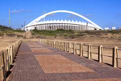View from  Pier of Moses Mabhida Stadium Royalty Free Stock Photography
