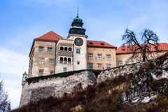 View of Pieskowa Skala Castle   Stock Photos