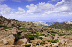 View from Pikes Peak Stock Image