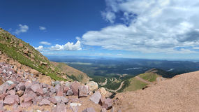View from Pikes Peak Stock Photos
