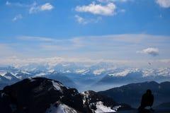 Pilatus in Switzerland, Mount Pilatus stock images