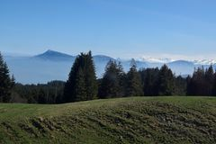 Pilatus in Switzerland, Mount Pilatus Royalty Free Stock Images